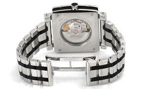 TiffanyZ1100.70.12A10A00AティファニーAtlasGentSquareメンズ腕時計ブラック×シルバー
