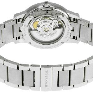 TiffanyZ1801.68.10B10A00AティファニーAtlasDomeメンズ腕時計シルバー×ブラック