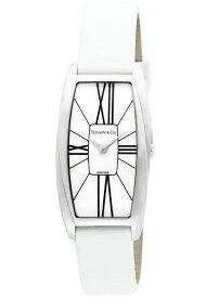 Tiffany Z6401.10.10A20A48Aティファニー Gemea レディース 腕時計ホワイト×シルバー