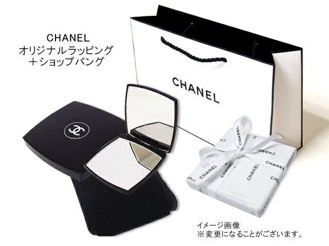 CHANEL 137500MIROIR DOUBLE FACETTESシャネル ミロワールドゥーブルダブルコンパクトミラー 鏡CHANELオリジナルラッピング+ショップバッグ