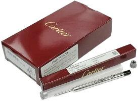Cartier VXRB0511 REFILL Mカルティエ リフィル 黒M字(中字) 対応ボールペン専用替芯 10本入Cartier 純正BOX・プラスチックケース