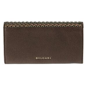 BVLGARI36376ブルガリ財布長札(ファスナー付)