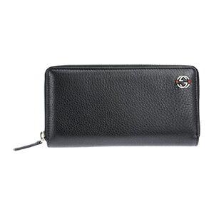 GUCCI308796-A7MMN-1060グッチラウンドファスナー長財布レザーブラック