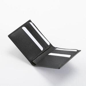 GUCCI428726-DJ20T-1000グッチ二折財布レザーブラック×ゴールド