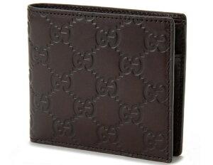 GUCCI146223-A0V1R-2019グッチ二折小銭財布グッチシマレザーチョコレート