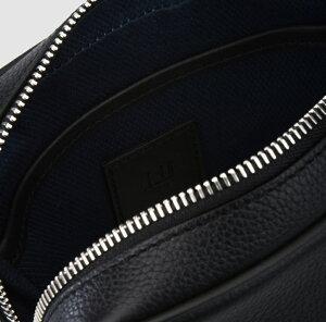 dunhillL3V395Aダンヒルショルダーバッグレザーブラック×ブルー