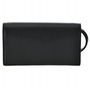 ChristianLouboutin31550623-0001-CM53クリスチャンルブタンラウンドファスナー小銭財布レザーブラック×レッド