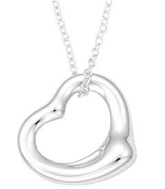 Tiffany&Co. 25152336 ELSA PERETTIOPEN HEART PENDANT MINI STERLING SILVERティファニー エルサ・ペレッティ オープンハート ペンダント ミニスターリングシルバー ネックレス