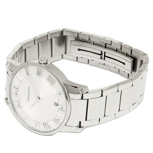 TIFFANY&CoZ18001110A21A00AATLASDOMEMWATCHティファニーアトラスドームクオーツウォッチ腕時計シルバー
