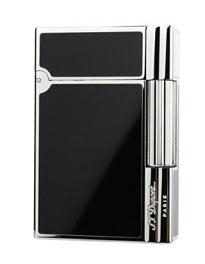 S.T.Dupont18109GATSBYNEWCOLLECTIONエス・テー・デュポンガスライターギャツビーニューコレクション純正黒漆×シルバー(パラジウムメッキ仕上げ)※対応ガス/グリーンラベル