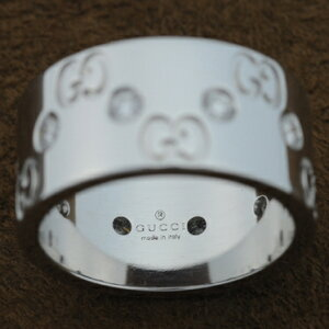 GUCCIグッチ100881-J8540-9066グッチリングK18GOLD