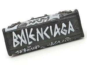 BALENCIAGA300295-0FE1T-1190CLASSICMINICITYGRISFOSS/VERTIRNバレンシアガグラフィティクラシックミニシティスモールラムスキンバッグオールドブラス仕上羊革(ラムスキン)ダークグレー×ホワイト