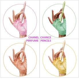CHANEL CHANCE PERFUME PENCILSシャネル チャンス クレイヨン ドゥ パルファム 4本セットシャネル ラッピング&リボン・ショップバッグサンプル 5点付 ※画像のサンプル又はアソート5点