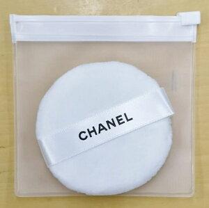 CHANELPOWDERPUFFシャネルパウダーパフクリアケース付シャネルリボン&ショップバッグメッセージカード※ご注意…この商品はラッピングできませんのでご了承ください。