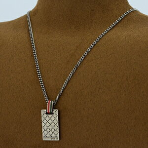 GUCCI310481-J89L0-8518SILVERNECKLACEMADEINITALYイタリア製グッチネックレスシルバー925銀製品