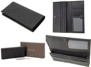 GUCCI307774-A0V1R-1000グッチ長財布グッチシマレザーブラック