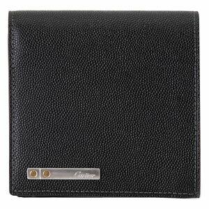 CARTIERL3000772サントスドゥカルティエウォレットカルティエ二折財布グレインカウハイドブラック