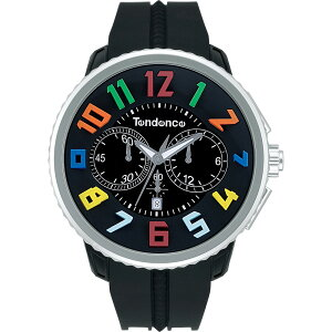TendenceTG046013RRoundGulliverRainbowテンデンス腕時計ラウンドガリバークロノレインボー