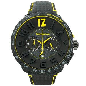 TendenceTGS30002SPORTCARBONFIBERテンデンス腕時計スポーツカーボンファイバーブラック×イエロー