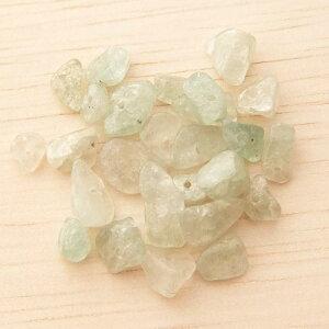 半貴石天然石さざれ石ホールあり中サイズ約5-9mm(3g)アマゾナイト├天然石ワックスコード蝋引き紐ハンドメイドアクセサリービーズパーツピアスイヤリングブレスレットさざれ┤