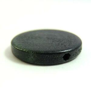ウッドビーズパーツラウンド25mm(1個)├ウッド木ビーズアクセサリーパーツアクセサリーパーツブレスレットピアスイヤリングネックレスワンポイント手芸資材素材┤