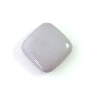 アクリルビーズパーツダイヤ(1個)グレー├アクリル樹脂ビーズアクセサリーパーツアクセサリーパーツブレスレットピアスイヤリングネックレスワンポイント手芸資材素材┤
