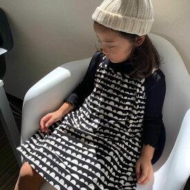 【送料無料】 (A-family) 子供服 キャミ ワンピース 女の子 コーデュロイ 110cm 膝丈