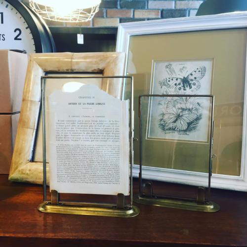 Brass photo frame(S)【ブラスフォトフレーム 額縁 ビンテージ アンティーク】