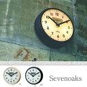 Sevenoaks/セヴノークス【時計 壁掛け ライトクロック サインライト アメリカ ビンテージ インダストリアル カフェ 贈り物】