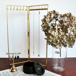 Brass Necklace Stand /ブラスネックレススタンド【ネックレススタンド アクセサリースタンド ネックレス ブラス 真鍮 インテリア 贈り物 プレゼント 北欧風】