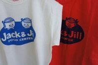 全国どこでも送料無料!!春夏新作!!【CUSHMAN】リサイクルコットンTee(JACK&JILL)【クッシュマン】メンズ&レディース半袖Tシャツコットン100%