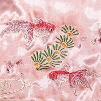 全国どこでも送料無料!2020年春夏新作!【Japanesque】金魚刺繍スカジャン【ジャパネスク】メンズ&レディースリバーシブル和柄