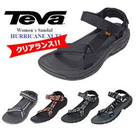 TEVA テバ ハリケーン XLT2 レディース HURRICANE XLT2 1019235 ストラップサンダル スポーツサンダル ビーチサンダル ビーサン アウトドア トレンド 黒 ブラック おしゃれ