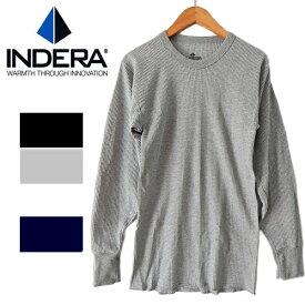 65%コットン35%ポリ INDERA MILLSインデラミルズ #800 #810サーマル 長袖 Tシャツ ロンt ワッフル