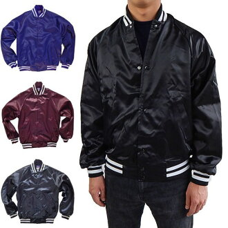 ASW satin jacket MADE IN USA