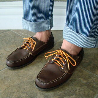 G.H.BASS G... H... bus CARLISLE moccasin shoes camp MOC CAMP MOC BLUCHER MOC blue chermok LL BEAN LL Bean
