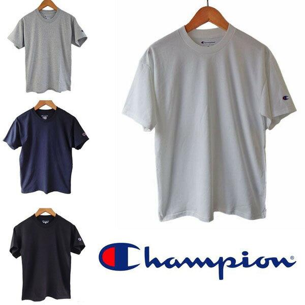 【メール便なら、2枚まで送料180円。】CHAMPION チャンピオン Tシャツ 無地メンズ ボーイズ レディース