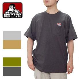 ベンデイビス BEN DAVIS USA ヘビーデューティー ポケットtシャツ アメリカ企画