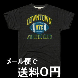 HOMAGE 존경 DOWNTOWN NYC 빈티지 프린트 T셔츠 MADE IN USA 컬리지 스쿨