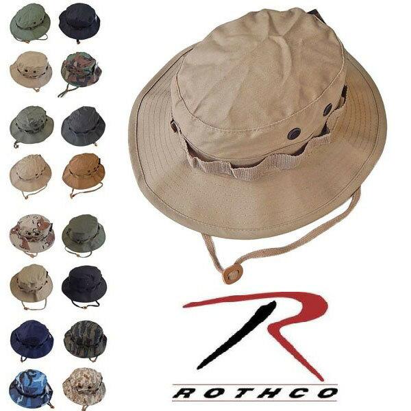 【メール便で送料180円♪】ロスコ ROTHCO ブーニーハット ジャングルハット ハイキング 登山 帽子 サファリハット L XL XXL 大きいサイズ 登山帽
