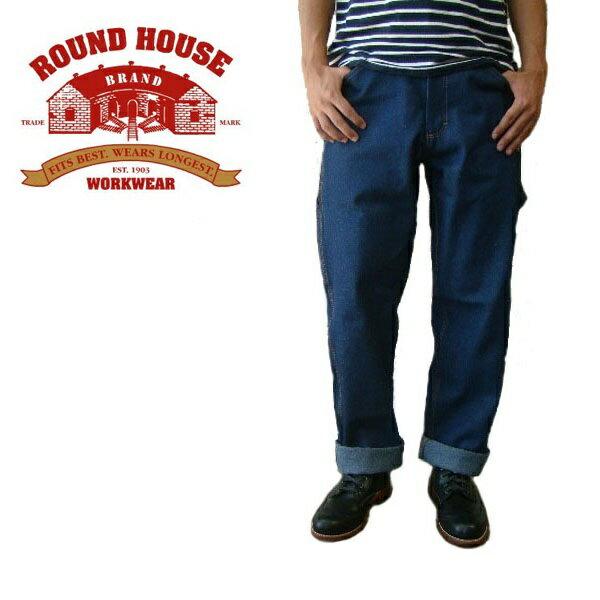 ROUND HOUSE MADE IN USA ラウンドハウスリジッド ペインターパンツ 101 未洗い アメリカ製