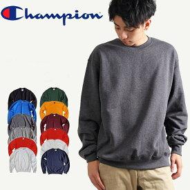 CHAMPION チャンピオン メンズ 無地 トレーナー スウェットシャツ ホワイト ブラック 裏起毛 ビッグシルエット レディース ユニセックス 安い シンプル