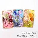 【メール便送料無料】enさんchiiさんのお花の福袋 3種セット /アロマワックスバー キット/ボタニカルサシェ/ハーバリ…
