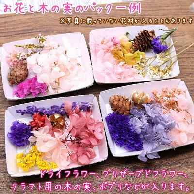 【メール便送料無料】アロマワックスバー用お花と木の実の福袋訳あり
