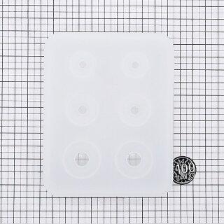 6個作れるたまご型モールド(3サイズが2つずつ作れる)