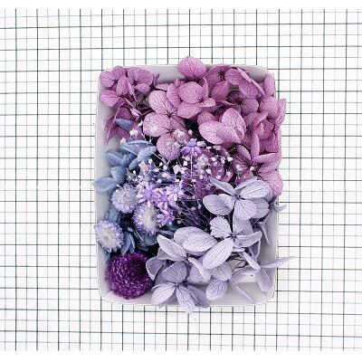スミレカラー花材セット