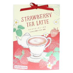 紅茶 ストロベリーティーラテ とちおとめ苺パウダー使用 70g(約5回分)プチギフト 誕生日プレゼント 粉末飲料