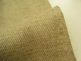 最後の1点です!【 1.9m価格 】 ♪ ジュートのような手触り ♪ 日本製 綾織り リネン生地 無地♪ 生成りベージュ ♪≪激安 麻 生成り ライトべージュ 麻生地 ≫150cm幅【 1.9mカットで 2,980円 】 【 宅配便のみです 】p1ke321 tB