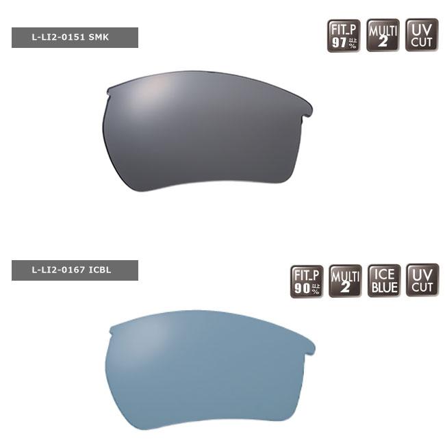 【SWANS/スワンズ】LIONシリーズ用スペアレンズ L-LI2-P 交換レンズ レンズのみ 偏光レンズ サングラス