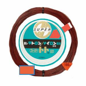 【GOSEN/ゴーセン】スーパートト 100m 30号 プロフェッショナル ライン ナイロン 道糸 720958